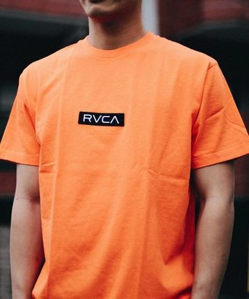 RVCA More T-Shirts Unisex Plain Short Sleeves T-Shirts 15