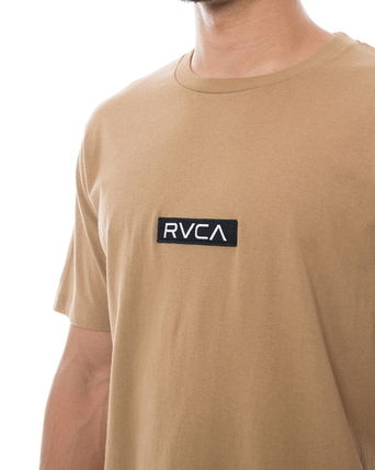 RVCA More T-Shirts Unisex Plain Short Sleeves T-Shirts 16