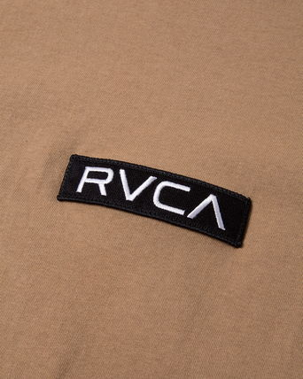 RVCA More T-Shirts Unisex Plain Short Sleeves T-Shirts 18