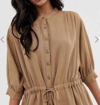 Crew Neck Casual Style Long Sleeves Medium Dresses