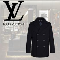 Louis Vuitton Street Style Peacoats Coats