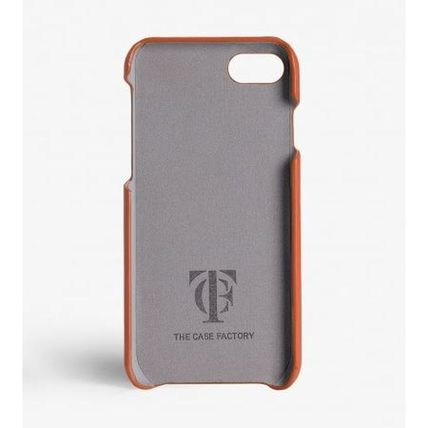 Leather iPhone 8 Smart Phone Cases