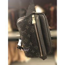 Louis Vuitton Monogram Canvas Blended Fabrics Street Style 2WAY Bi-color