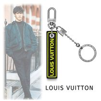 Louis Vuitton 2019-20AW PORTE-CLES TAB black one size Accessories