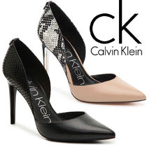 Calvin Klein Other Animal Patterns Leather Pin Heels Office Style