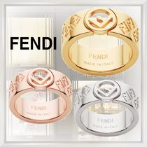 FENDI Casual Style Street Style Rings