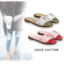 Louis Vuitton 2019-20AW LOCK IT LINE MULE 2colors 34-40 Shoes