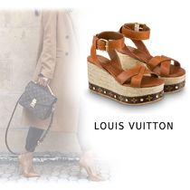 Louis Vuitton 2019-20AW TIME-LAPSE LINE SANDAL brown 34-40 Shoes