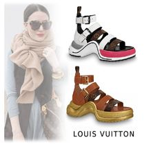 Louis Vuitton 2019-20AW LV ARCLIGHT LINE SANDAL 2colors 34-39  Shoes