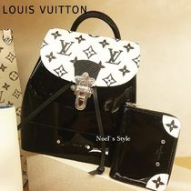 Louis Vuitton 2019-20AW HOT SPRINGS MINI black free size Bags