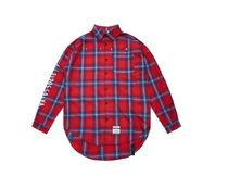 STIGMA Other Plaid Patterns Street Style Long Sleeves Cotton