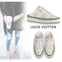 Louis Vuitton 2019-20AW FRONT-LOW LINE SNEAKER bron 34-39.5 Shoes