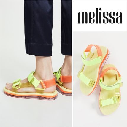 Open Toe Rubber Sole Casual Style Sport Sandals PVC Clothing