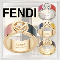 FENDI Casual Style Street Style Brass Rings