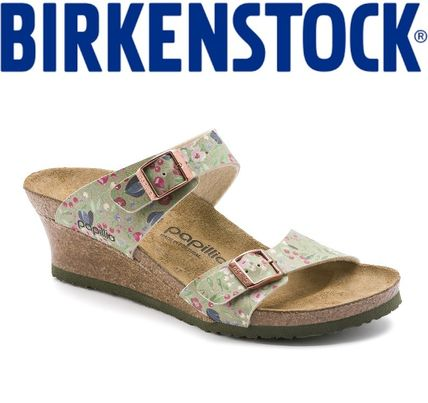 5fa376c36d ... Sandals 6 BIRKENSTOCK Platform & Wedge Flower Patterns Elegant Style  Platform & Wedge ...