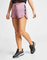 Nike Short Street Style Plain Cotton Denim & Cotton Shorts