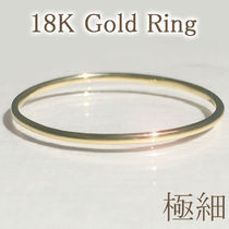 18K Gold Office Style Rings