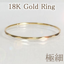 18K Gold Office Style Pinkie Ring Rings
