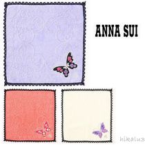 ANNA SUI Heart Cotton Handkerchief