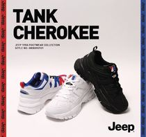 JEEP Unisex Street Style Sneakers