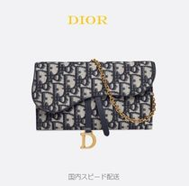 Christian Dior Canvas Long Wallets