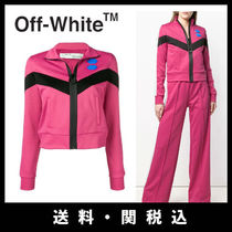 Off-White Casual Style Street Style Plain Jackets