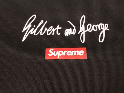 Supreme Long Sleeve Crew Neck Street Style Long Sleeves Long Sleeve T-Shirts 4