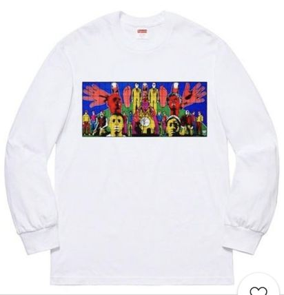 Supreme Long Sleeve Crew Neck Street Style Long Sleeves Long Sleeve T-Shirts 7