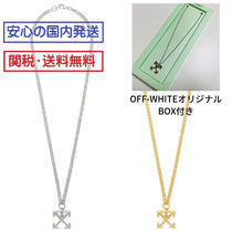 Off-White Street Style Silver Necklaces & Chokers