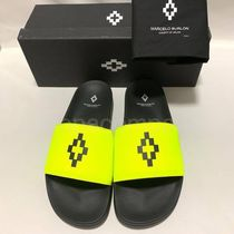 Marcelo Burlon Street Style Plain Shower Shoes Shower Sandals