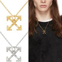 Off-White Unisex Street Style Necklaces & Chokers