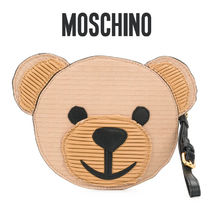Moschino Casual Style Other Animal Patterns Clutches