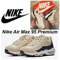 Nike AIR MAX 95 Casual Style Unisex Street Style Plain Low-Top Sneakers