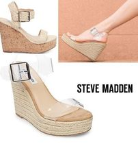 Steve Madden Open Toe Plain Shoes