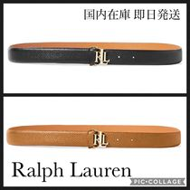 POLO RALPH LAUREN Plain Leather Office Style Belts