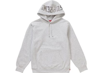 Supreme Hoodies Pullovers Unisex Sweat Street Style Long Sleeves Plain 2