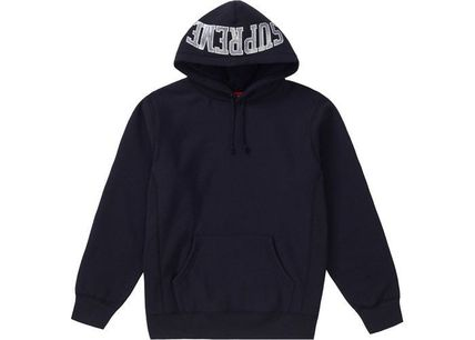 Supreme Hoodies Pullovers Unisex Sweat Street Style Long Sleeves Plain 3