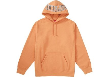 Supreme Hoodies Pullovers Unisex Sweat Street Style Long Sleeves Plain 7