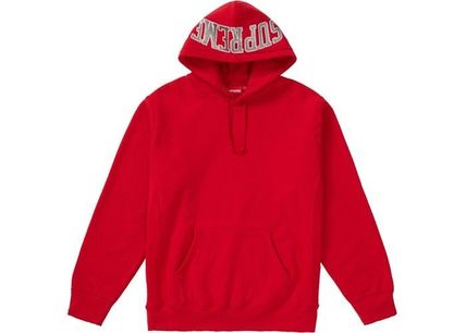 Supreme Hoodies Pullovers Unisex Sweat Street Style Long Sleeves Plain 8