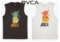 RVCA Tropical Patterns Cotton Tanks