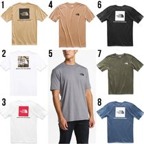 THE NORTH FACE Crew Neck Street Style Long Sleeves Long Sleeve T-Shirts