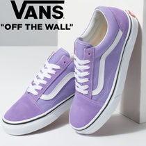 VANS OLD SKOOL Lace-up Casual Style Unisex Street Style Low-Top Sneakers