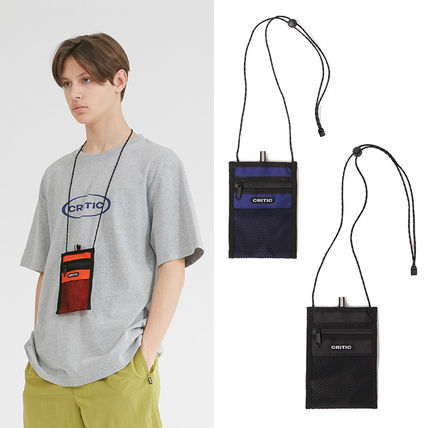Casual Style Unisex Street Style Plain Bags