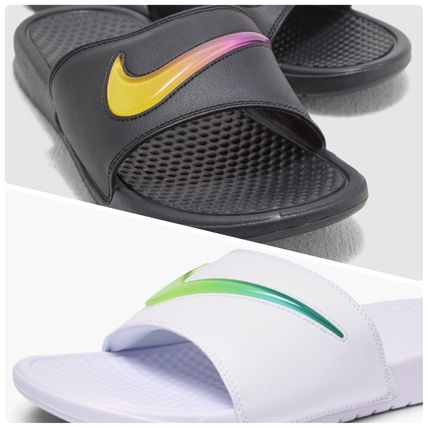 new style 3861d 09bae Nike BENASSI Unisex Street Style Loafers & Slip-ons by ...