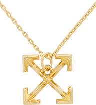 Off-White Unisex Street Style Metal Necklaces & Chokers