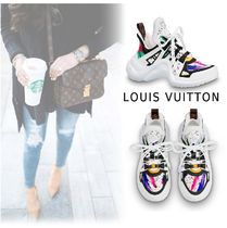 Louis Vuitton 2019-20AW LV ARC LIGHT LINE SNEAKER white 34-40 Shoes