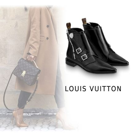 Louis Vuitton Ankle & Booties 2019-20AW JAMBLE LINE ANKLE BOOTS black 34-40 Shoes