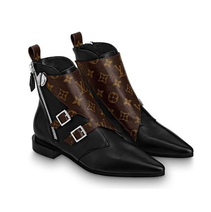 Louis Vuitton Ankle & Booties 2019-20AW JAMBLE LINE ANKLE BOOTS black 34-40 Shoes 3