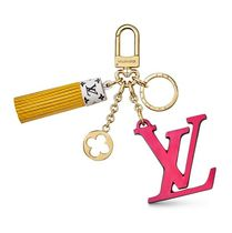 Louis Vuitton 2019-20AW BAG CHARM/LV TASSEL gold one size Accessories
