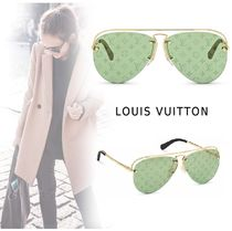 Louis Vuitton 2019-20AW GREASE SUNGLASSES green one size Accessories